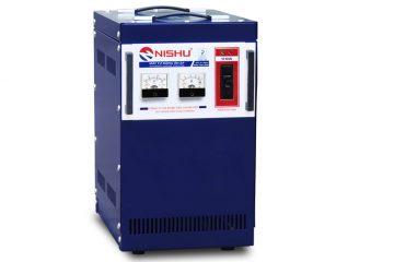 Ổn áp Nishu 10KVA 1 pha dải 150-250V