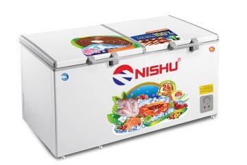 (Tiếng Việt) Tủ đông Nishu  dàn đồng 100%